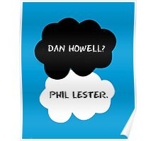 Dan Howell? Phil Lester. (The fault in our stars) Poster