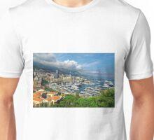 View of Monaco Bay Unisex T-Shirt