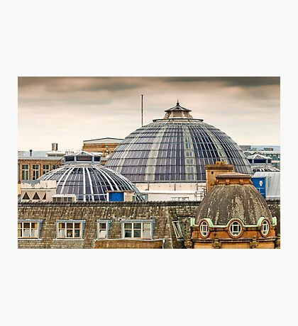Manchester's Domed Skyline Photographic Print