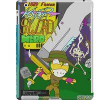 Super Power Hyper Sword Hero [CD Case insert] iPad Case/Skin
