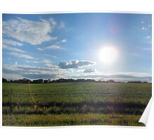 Countryside Landscape in the United States of America Poster
