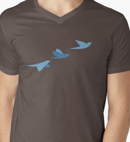 Blue birds of peace. T-Shirt