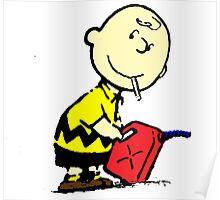 Bad Charlie Brown Poster