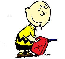 Bad Charlie Brown Photographic Print