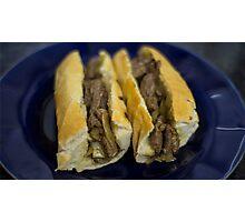 Steakwich  Photographic Print