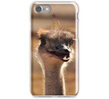 Smiling Ostrich iPhone Case/Skin