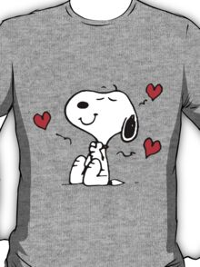 Snoopy Love T-Shirt