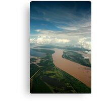 The Meeting of the waters - Manaus Brazil Canvas Print