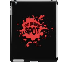 Out Damned Spot iPad Case/Skin