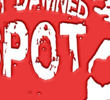 Out Damned Spot Sticker