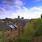 The City of Durham, Northern England. 23rd April 2014 by Ian Alex Blease