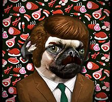 ron swanpug by darklordpug