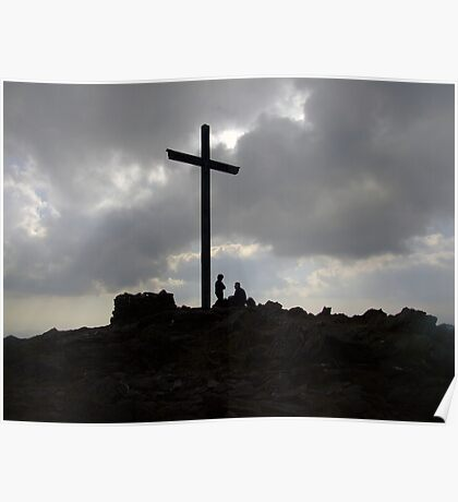 Carrauntoohil summit Poster
