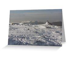 Mangerton mountain summit Greeting Card