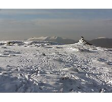Mangerton mountain summit Photographic Print