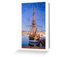 In the Port Greeting Card