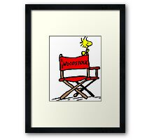 Woodstock director Framed Print