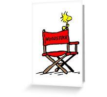Woodstock director Greeting Card