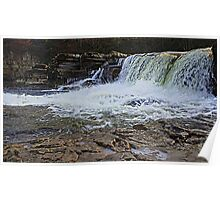 Waterfalls on the River Swale Poster