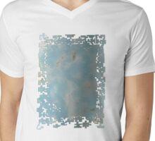 Sky Puzzle Mens V-Neck T-Shirt