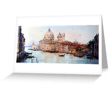 Bona Sera Venice Greeting Card