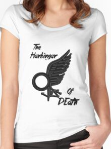 The Harbinger Of Death Women's Fitted Scoop T-Shirt
