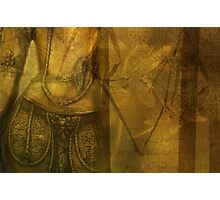Golden Antiquity Photographic Print