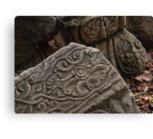 Ancient Stonework Canvas Print