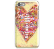 To love another person is to see the face of God. - Victor Hugo iPhone Case/Skin
