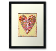 To love another person is to see the face of God. - Victor Hugo Framed Print