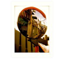 osaka reflections Art Print
