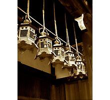 nara lanterns IV Photographic Print