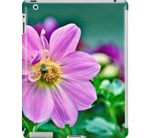 Purple bee iPad Case/Skin