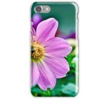 Purple bee iPhone Case/Skin