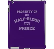 Property of the Half-Blood Prince iPad Case/Skin