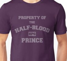 Property of the Half-Blood Prince Unisex T-Shirt