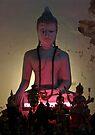 Neon Buddha by Dave Lloyd