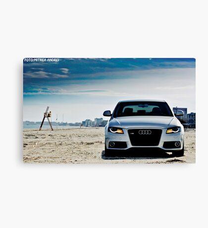 Audi A4 Canvas Print