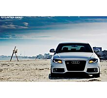 Audi A4 Photographic Print
