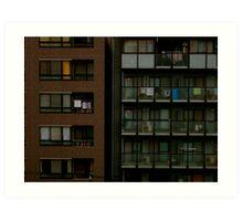 city living Art Print