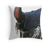 Walk in my Boots Throw Pillow