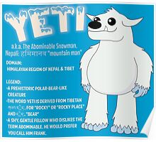 Yeti With Title Poster