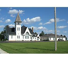 Immanuel Lutheran - Waterman IL Photographic Print