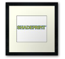 Shadeprint Communications Logo. Framed Print