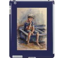 The pensive sailor.... iPad Case/Skin