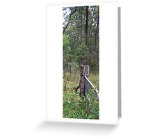 Boundary Greeting Card