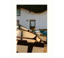 Fishermans Cottage Art Print