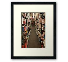 On the Shelf Framed Print