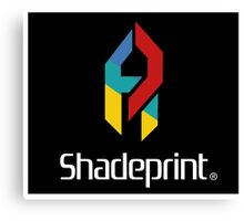 Play Shadeprint Logo Canvas Print
