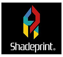 Play Shadeprint Logo Photographic Print